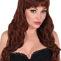 perruque châtain, perruque top qualité, perruque lavable châtain , perruque qualité supérieure