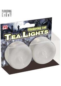 bougies led, bougies chauffe plat, bougies lumineuses, 2 Bougies Chauffe Plat, à LED
