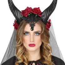 cornes maléfique, cornes de diable, démon, ange et démon