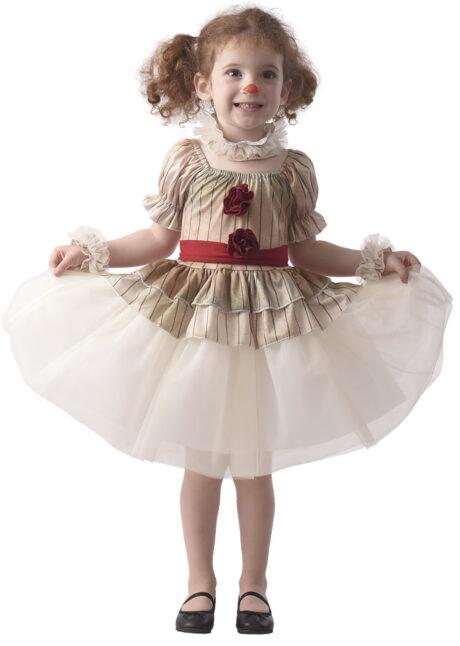 déguisement clown maléfique, déguisement clown ca pour enfant, déguisement halloween clown, Déguisement de Clown Creepy, Baby Fille