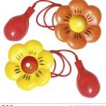 fleur lance eau, fleur de clown, accessoire clown déguisement, accessoire déguisement de clown, fleur lance eau en plastique Fleur Lance Eau de Clown