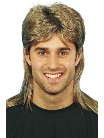 Coupe de cheveux homme meche blonde