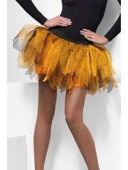 tutu princesse citrouille, accessoire halloween déguisement, accessoire déguisement halloween, accessoire tutu orange et noir, accessoire déguisement citrouille Tutu, Princesse Citrouille