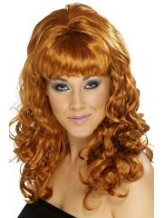 perruque pour femme, acheter perruque femme à paris, perruque de déguisement, perruque pas cher, perruque rousse, perruque behave beauty Perruque Behave Beauty, Rousse