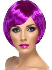perruque pour femme, acheter perruque femme à paris, perruque de déguisement, perruque pas cher, perruque violette, perruque babe Perruque Babe, Violette