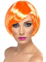perruque pour femme, acheter perruque femme à paris, perruque de déguisement, perruque pas cher, perruque orange, perruque babe Perruque Babe, Orange