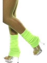 guêtre année 80 vert fluo, accessoire années 80, accessoire déguisement, accessoire disco, accessoire fluo, guêtres années 80, accessoire disco Guêtres, Jambières Années 80, Vert Fluo