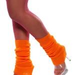 guêtre année 80 orange fluo, accessoire années 80, accessoire déguisement, accessoire disco, accessoire fluo, guêtres années 80, accessoire disco Guêtres, Jambières Années 80, Orange Fluo