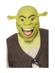masque de schreck, masque de déguisement, accessoire déguisement masque, accessoire masque déguisement, masque célébrité dessin animé Masque de Shrek, Latex