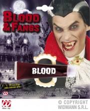 faux sang et dentier halloween, faux sang, maquillage faux sang halloween, faux sang déguisement, faux sang paris, faux sang comestible, faux sang effets spéciaux Faux Sang en Gel + Dentier