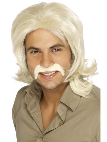perruque pour homme, perruque pas chère, perruque de déguisement, perruque homme, perruque blonde , perruque années 70, perruque disco Perruque 70's Rétro, Blonde