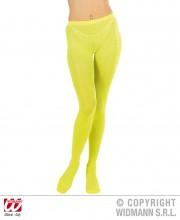 collant fluo, collant déguisement, collants fluos, accessoire fluo, accessoire déguisement, collant jaune fluo Collant Fluo, Jaune