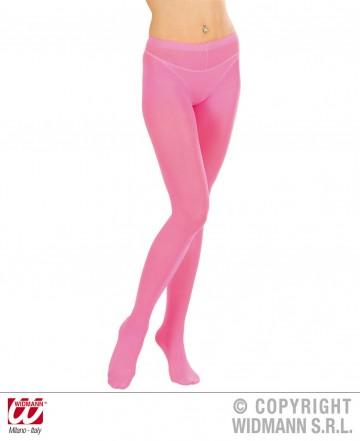 collant fluo, collant déguisement, collants fluos, accessoire fluo, accessoire déguisement, collant rose fluo Collant Fluo, Rose