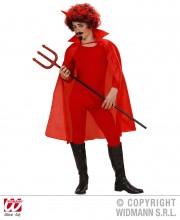 cape rouge pour enfant, cape rouge déguisement, cape déguisement halloween, cape diable enfant déguisement, cape halloween déguisement diable, cape halloween enfant Cape Rouge, Enfant, 100 cm