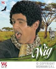 perruque pour homme, perruque pas chère, perruque de déguisement, perruque homme, perruque noire, perruque afro Perruque Afro Courte, Noire