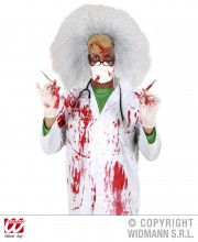 blouse ensanglantée, accessoire halloween déguisement, accessoire déguisement halloween, blouse faux sang halloween Blouse Ensanglantée