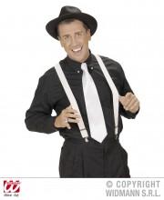 bretelles déguisement, bretelles homme, bretelles femmes, bretelles cabaret, bretelles années 30, bretelles blanches Bretelles Blanches, Elastiques et Réglables