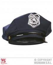 casquette de police, casquette de policier, accessoires déguisement police, accessoires déguisement policier, casquette insigne de police Casquette de Police, Bleu
