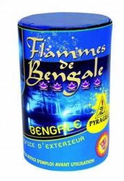 feux de bengale, pétards, pétards et fumigènes, pyragric, acheter des pétards à paris Flamme de Bengale, Bleue