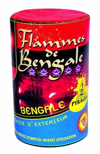 feux de bengale, pétards, pétards et fumigènes, pyragric, acheter des pétards à paris Flamme de Bengale Rouge