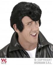 perruque pour homme, perruque pas chère, perruque de déguisement, perruque homme, perruque rocker, perruque années 60, perruque rockabilly, perruque noire Perruque Dany, Noire