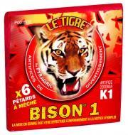 pétards, pétards et fumigènes, pyragric, acheter des pétards à paris, bisons Pétards Bison 1, Le Tigre
