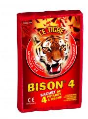 pétards, pétards et fumigènes, pyragric, acheter des pétards à paris Pétards Bison 4, Le Tigre