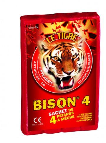 pétards, pétards et fumigènes, pyragric, acheter des pétards à paris Pétards, Le Tigre Bison 4