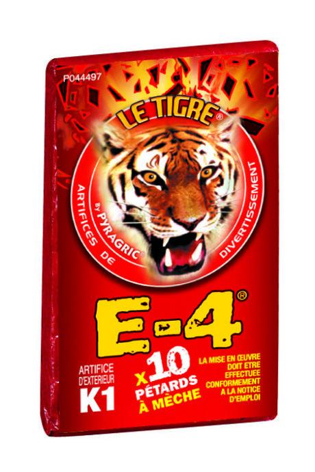 pétards, pétards et fumigènes, pyragric, acheter des pétards à paris Pétards, Le Tigre E-4