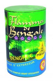 feux de bengale, feux de bengale, pétards, pétards et fumigènes, pyragric, acheter des pétards à paris Flamme de Bengale, Verte